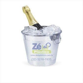 Balde Gelo Aluminio 7 Lts E014 - Zé do Plástico f9efb0c43b972